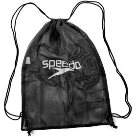 speedo Equipment Bolsa de red L, negro